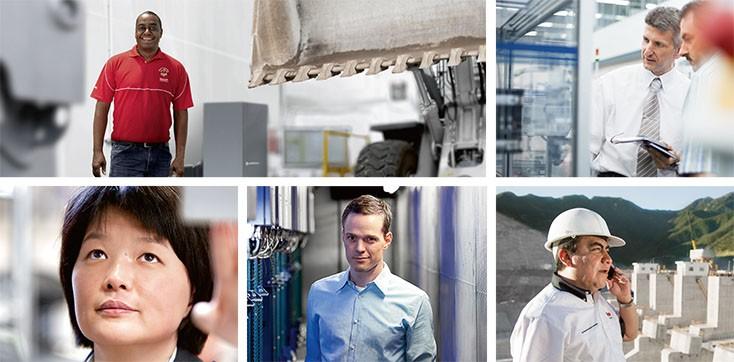 Σχετικά με τη Bosch Rexroth - Τμήματα αγοράς